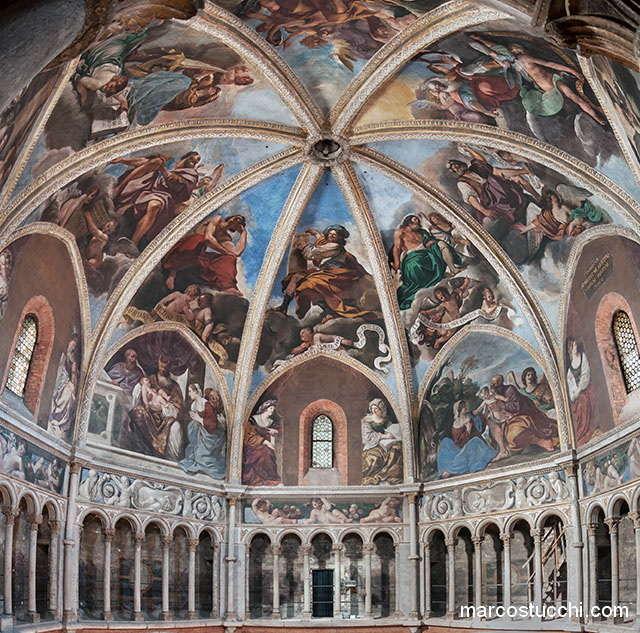 Salita alla cupola del Guercino – Piacenza